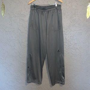 Jordan DriFit Sweat Pants Size XL Grey